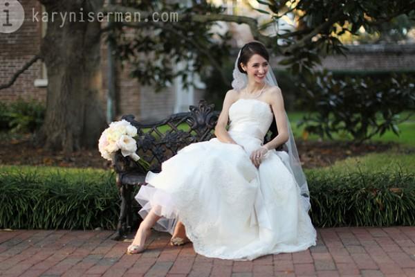 Charleston Bride | photograph by Karyn Iserman