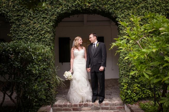 Post image for Laura & Tom {Governor Thomas Bennett House}