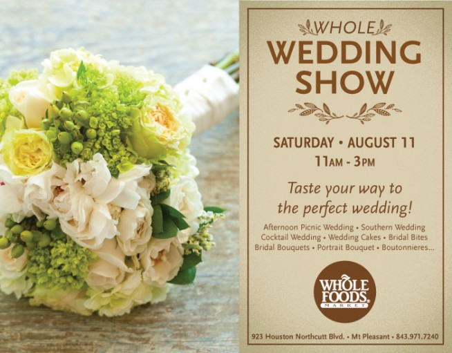 Wedding Flowers By Whole Foods Show At Ideas The