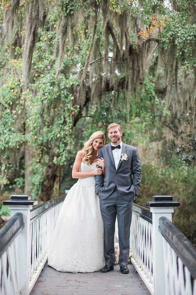 Post image for Caroline & Mike {Magnolia Plantation & Gardens}