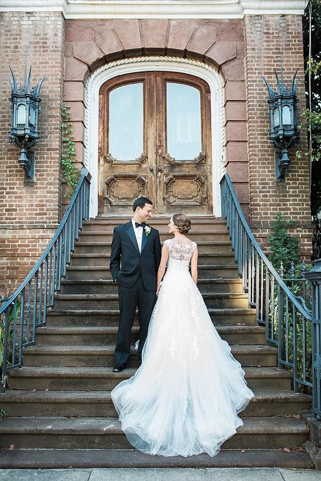 Post image for Julie & David {South Carolina Society Hall}