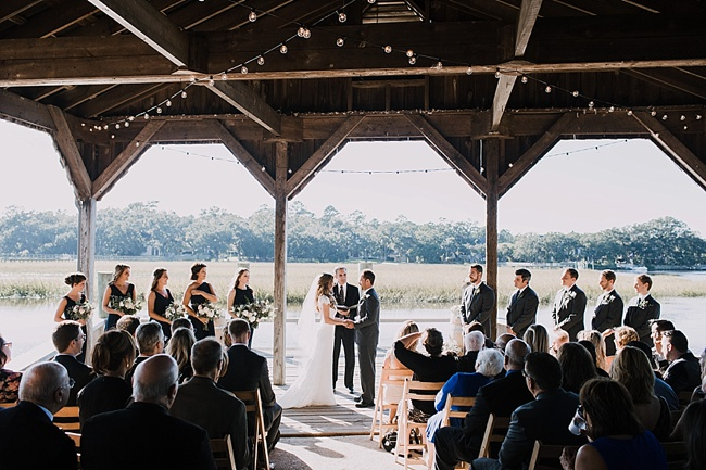 Post image for Laura & Jay | Cotton Dock at Boone Hall Plantation