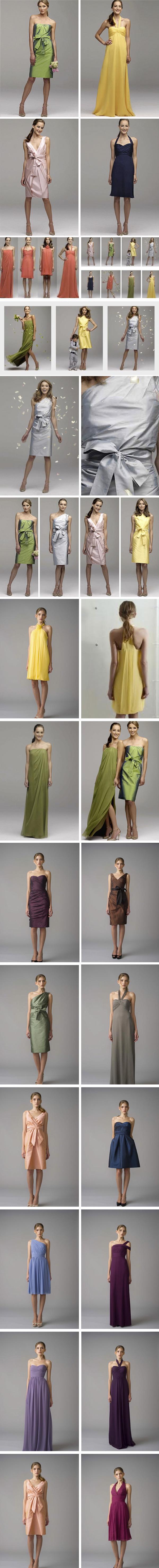 Charleston Bridesmaid dresses