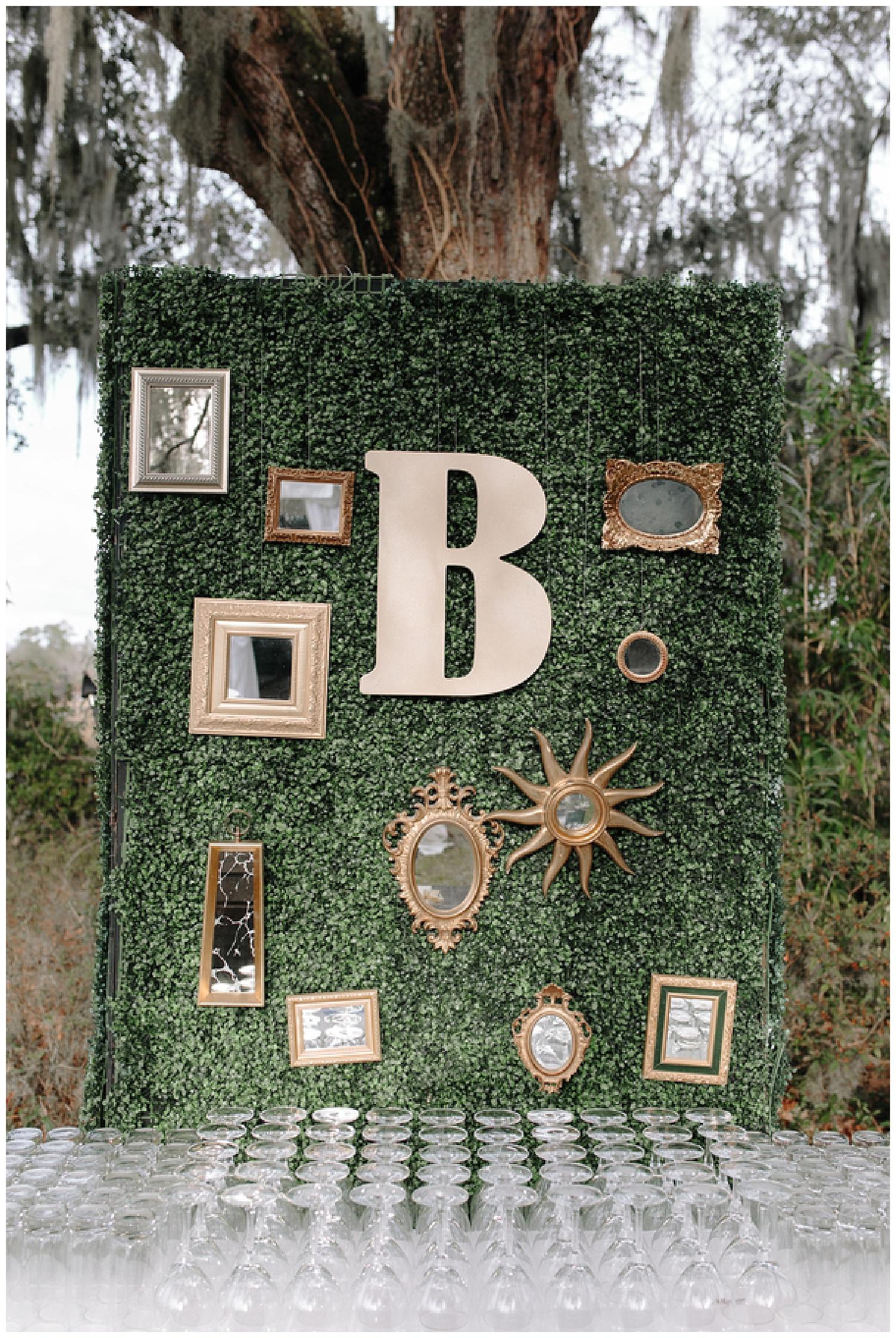 The Wedding Row Abby Kyle Magnolia Plantation Gardens The