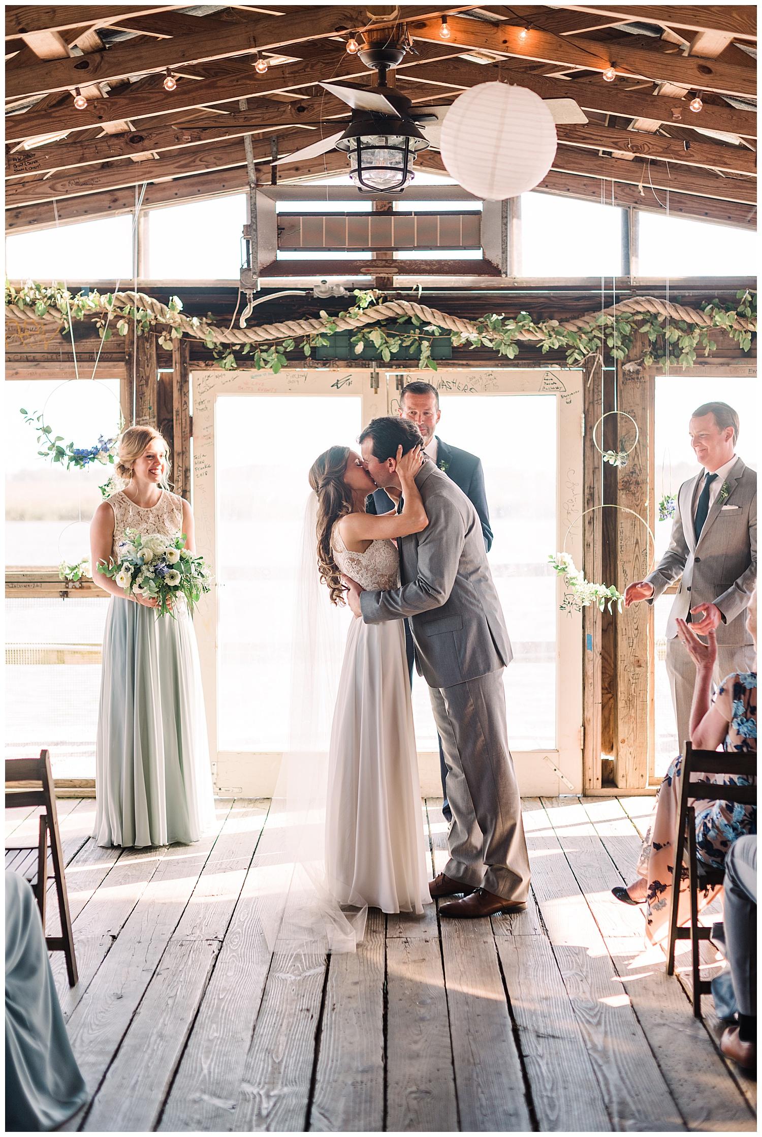 Meg Richard Bowens Island Restaurant Charleston Weddings Magazine