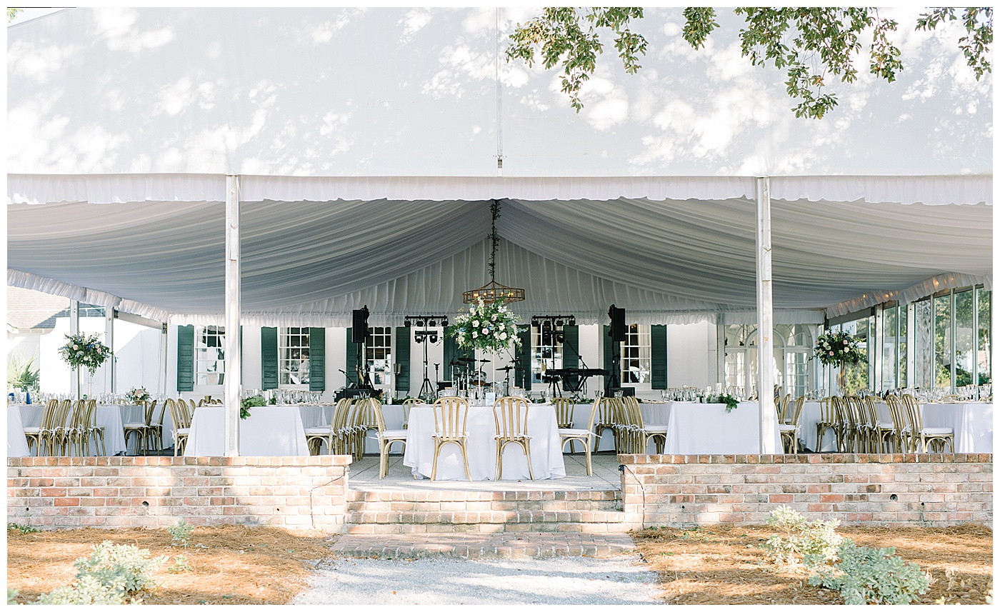 charleston outdoor reception
