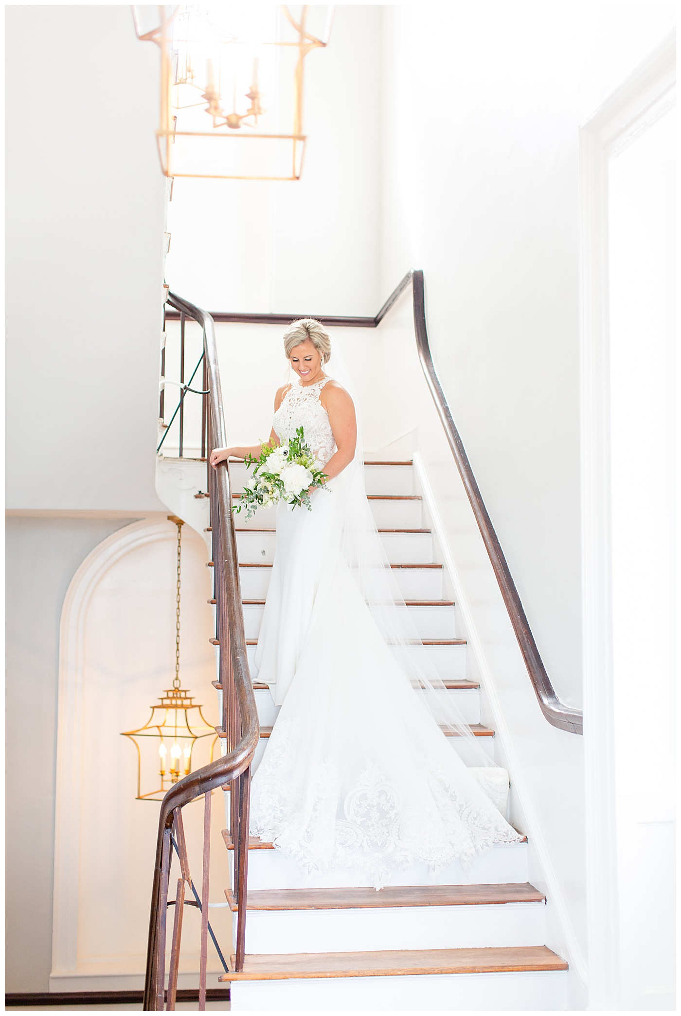 bride at the gadsden house in charleston