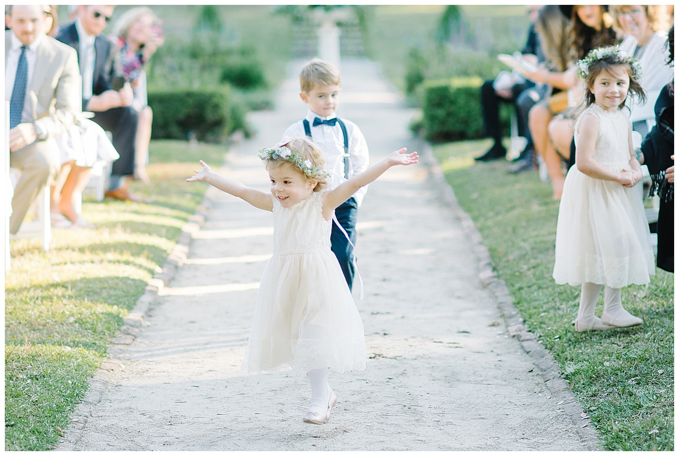 flower girl in charleston