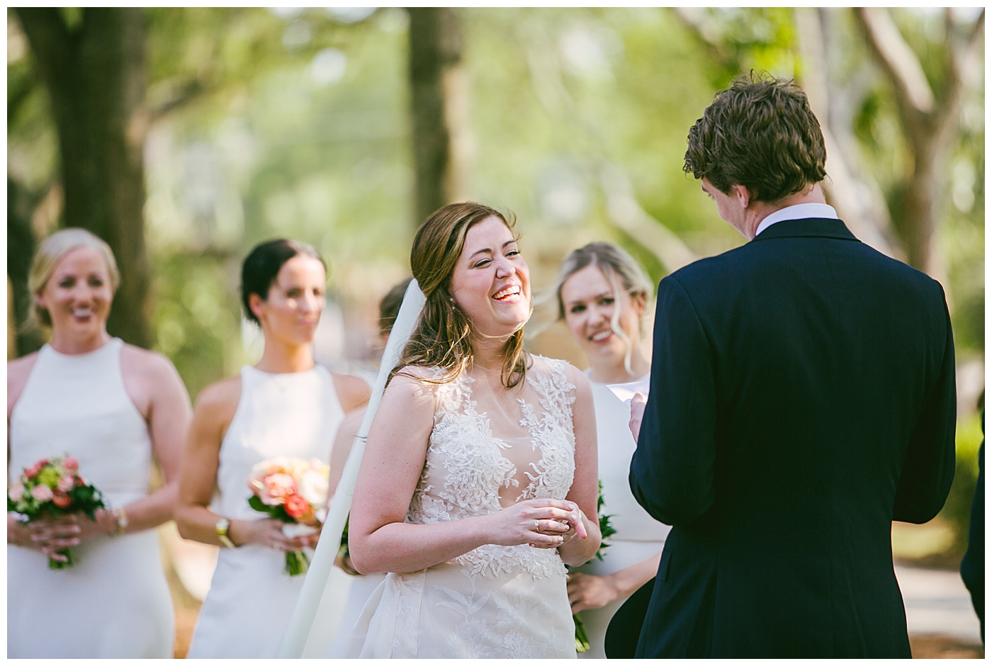 ceremony at lowndes grove in south carolina