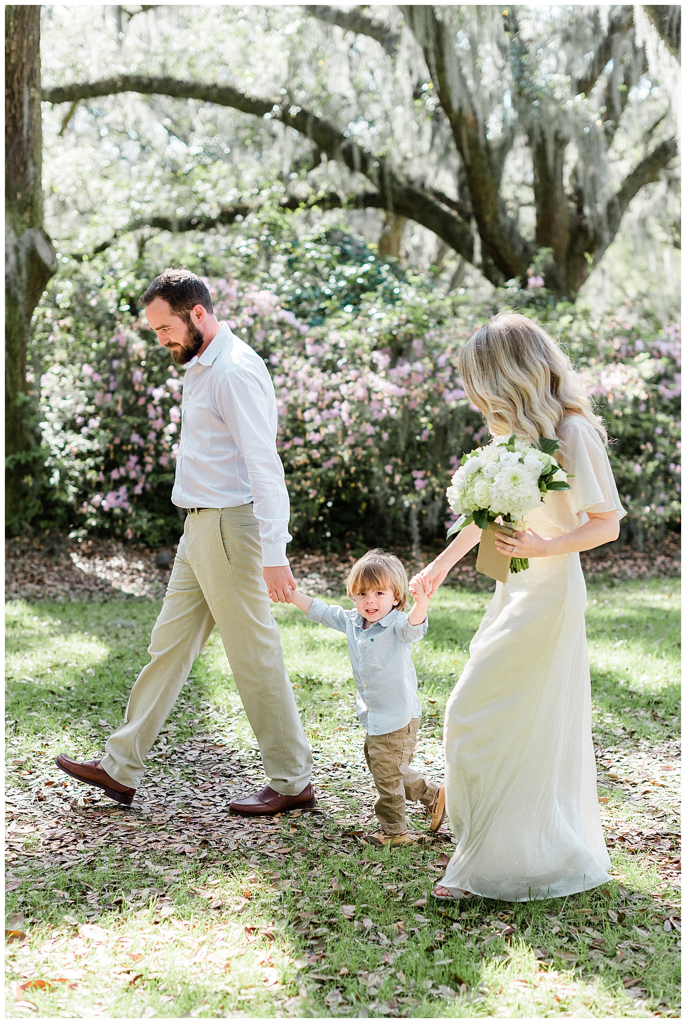charleston outdoor elopement