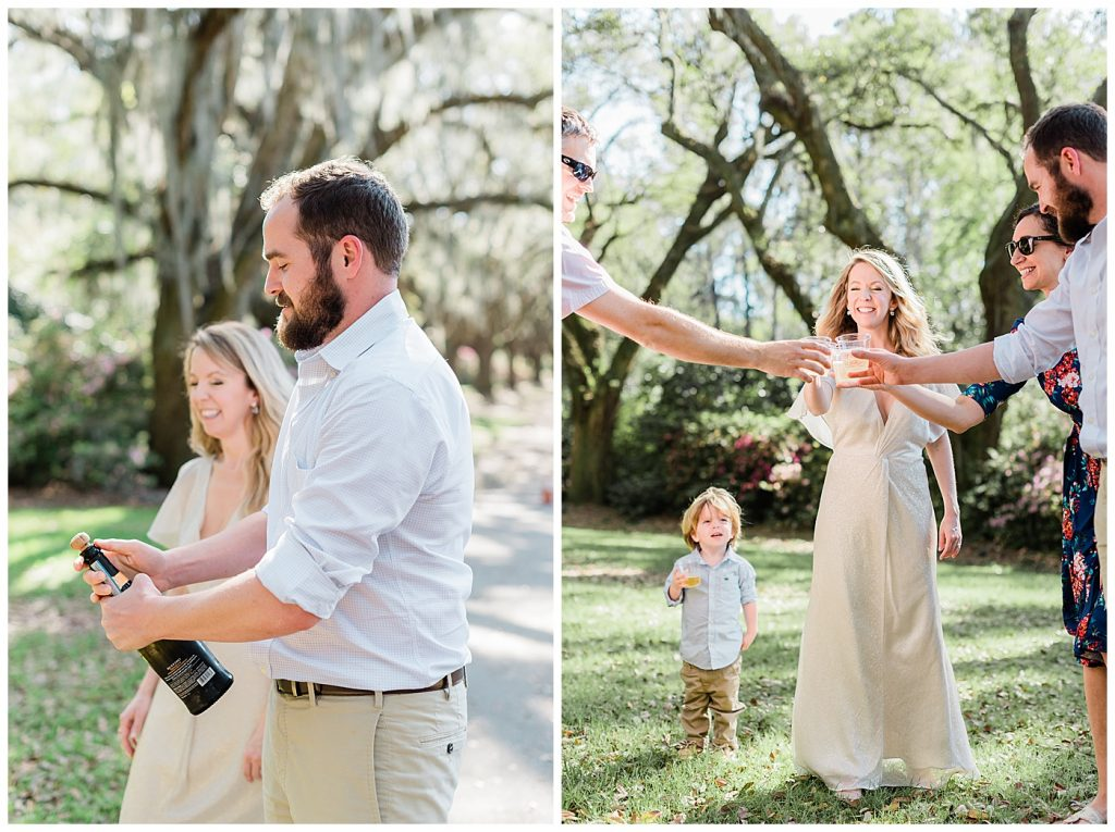 charleston elopement celebration