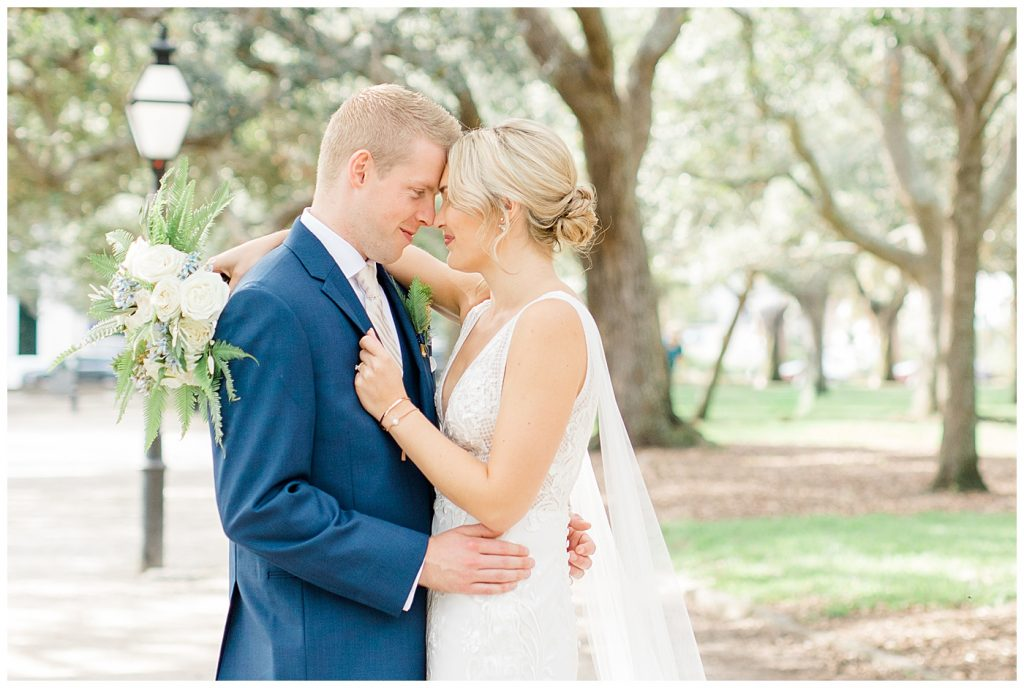 bridal portraits for a charleston destination wedding