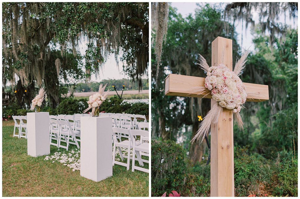 magnolia plantation ceremony
