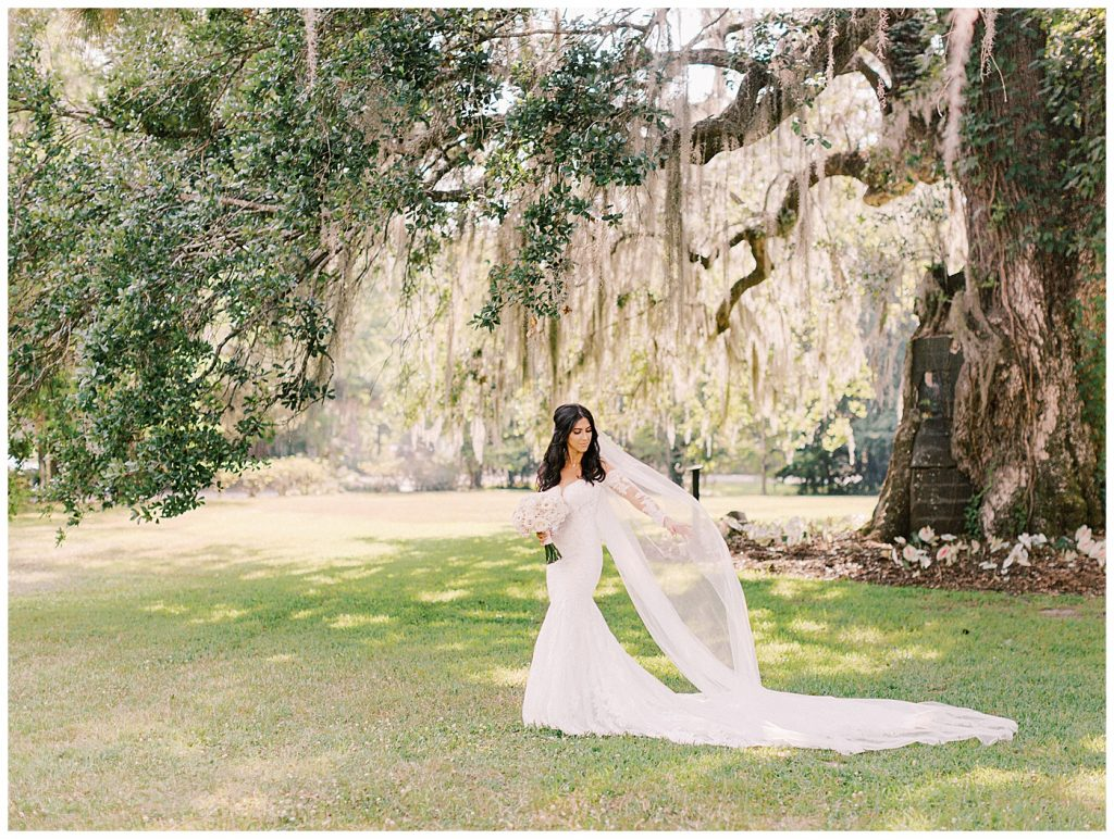 bride in charleston