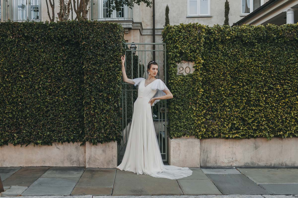 bride in charleston